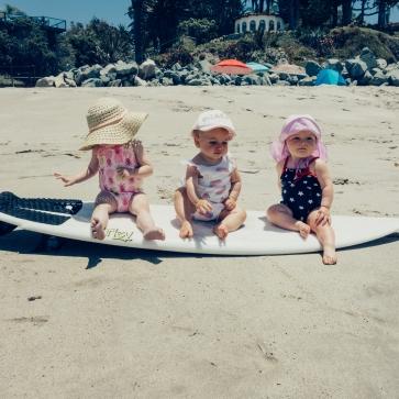 Cutest beach babes around
